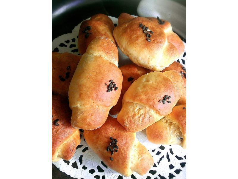 簡易牛角麵包