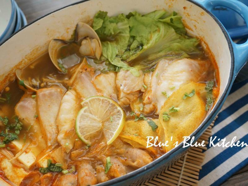 咖哩麻辣魚片鍋