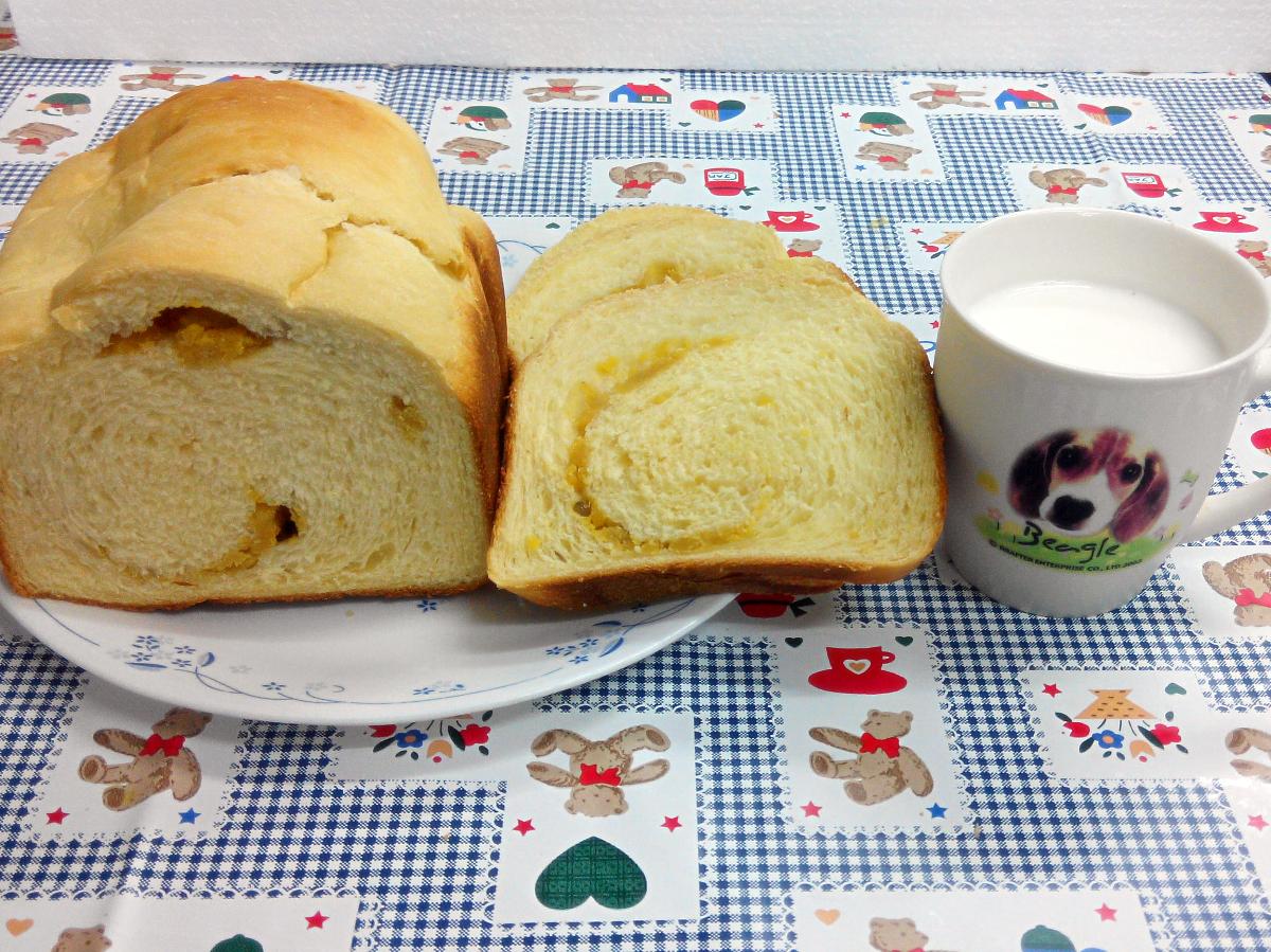 鮮奶地瓜吐司【飛利浦 麵包機】