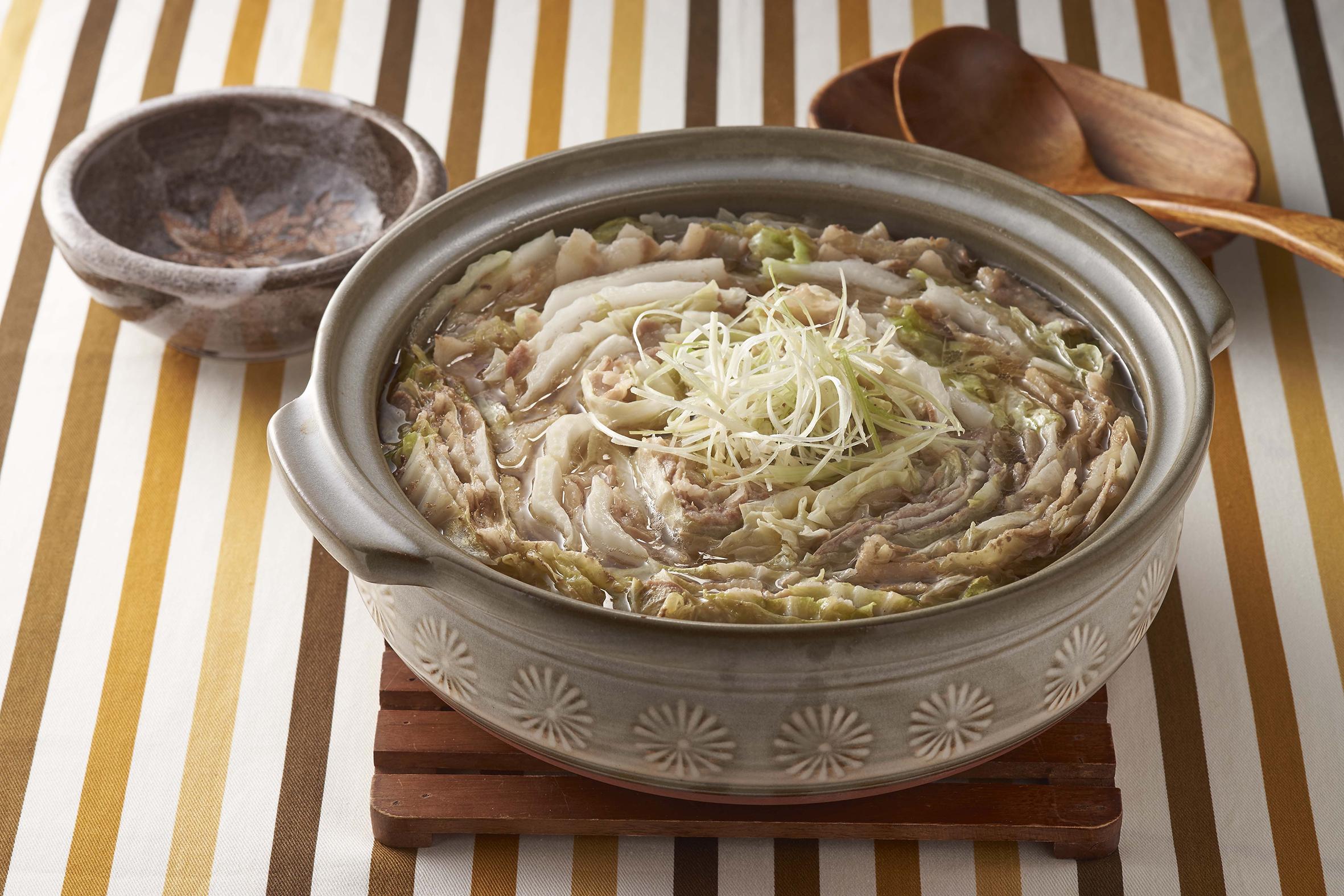 第二道實作-白菜豚肉鍋