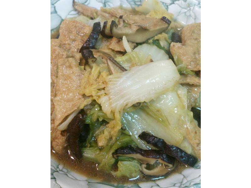 沙茶滷白菜