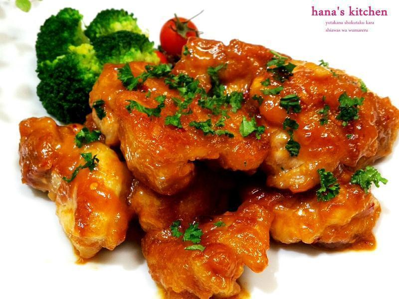 日式味噌淋醬雞塊