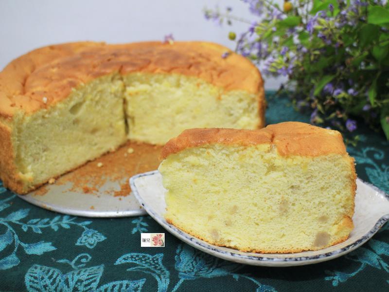 親子廚房-芋頭戚風蛋糕