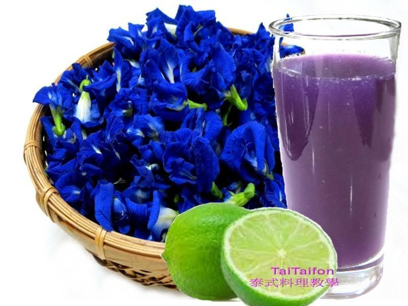 ♦泰泰風♦蝶豆藍花+檸檬汁可變化很多顏色