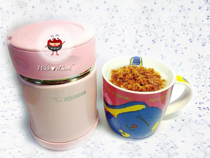 """♡宛の寶寶""""食""""堂 ✿ 悶燒杯煮粥超簡單"""