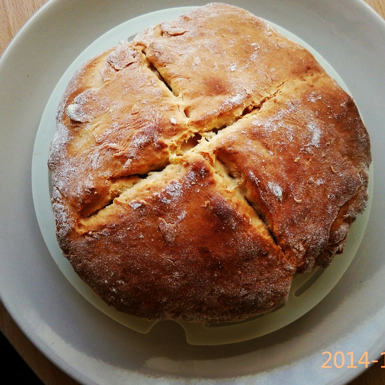 蘇格蘭無發酵麵包