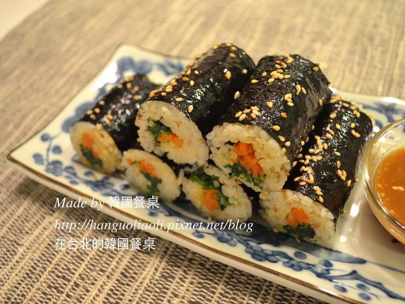 韓國傳統市場海苔飯捲, 광장시장김밥