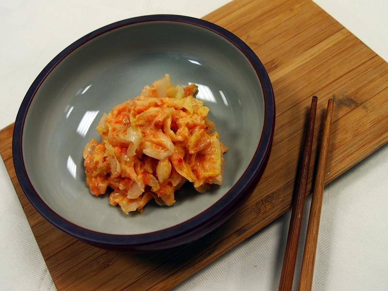 【懶小希】清爽開胃黃金泡菜