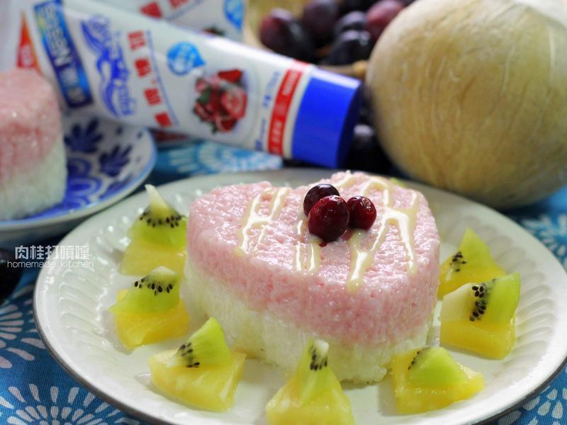泰式雙色煉奶米糕_鷹牌煉奶
