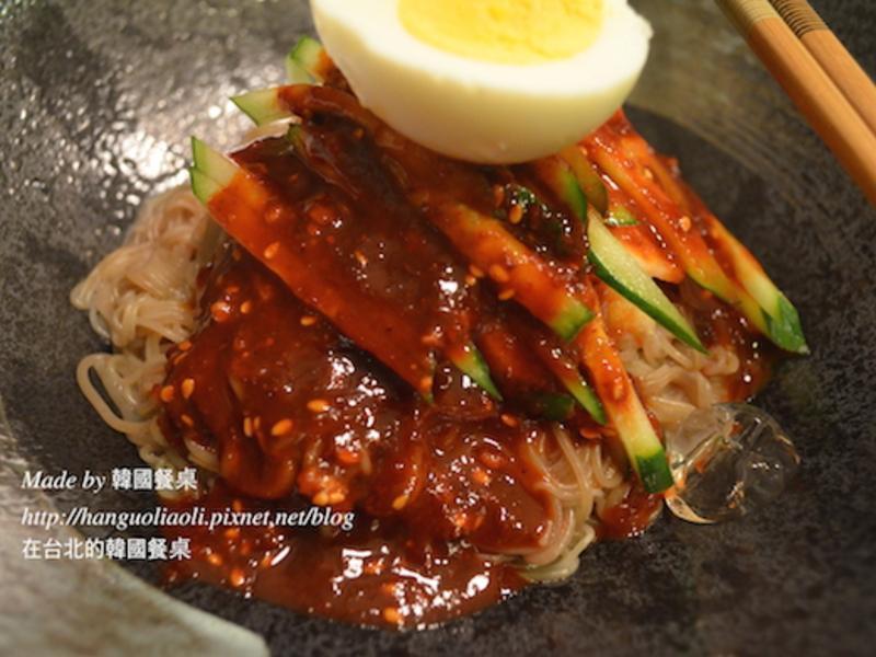韓國拌冷麵, 비빔냉면