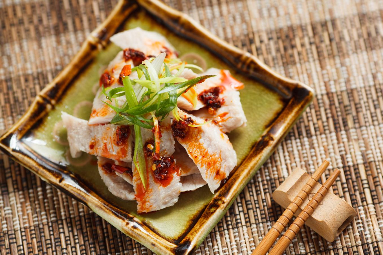(必備小菜) 辣椒豬頸肉