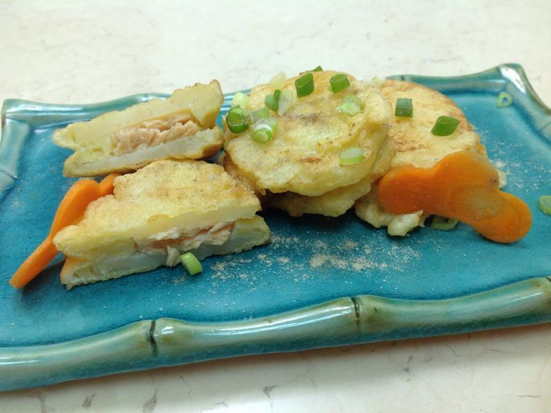 鮭魚馬鈴薯餅