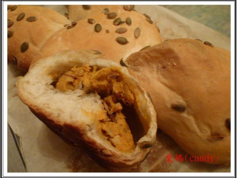 地瓜堅果麵包