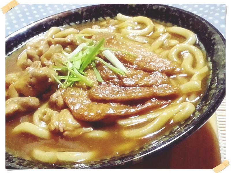 和風狐狸咖哩烏龍麵【烹大師時食饗宴】