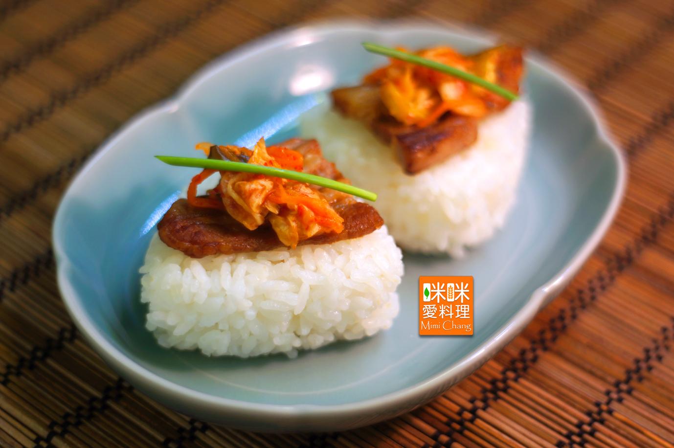 Mimi♥泡菜燒肉飯糰【掌生穀粒】