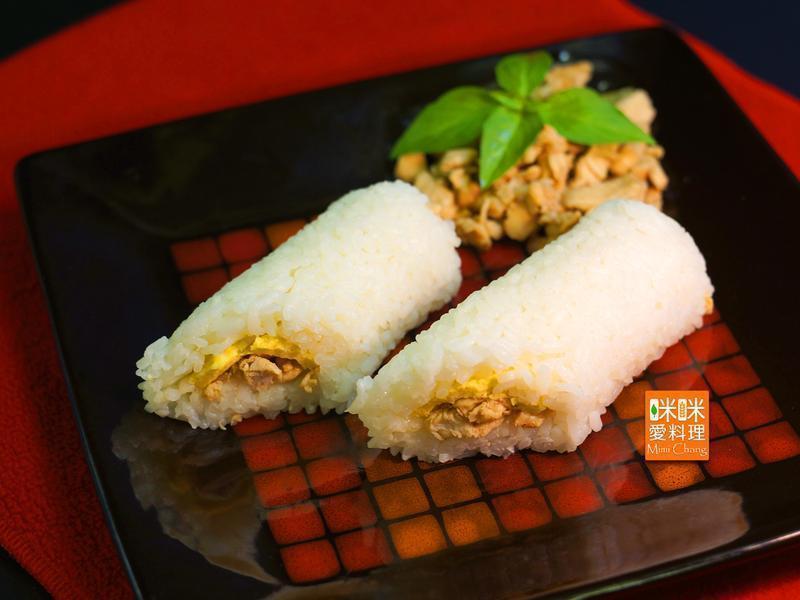 Mimi♥三杯雞台式飯糰【掌生穀粒】