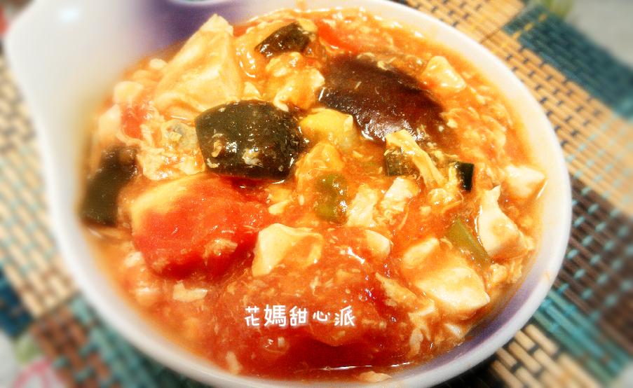 番茄雙蛋豆腐