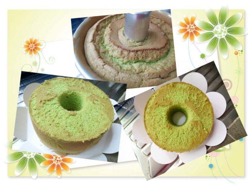 班蘭戚風蛋糕