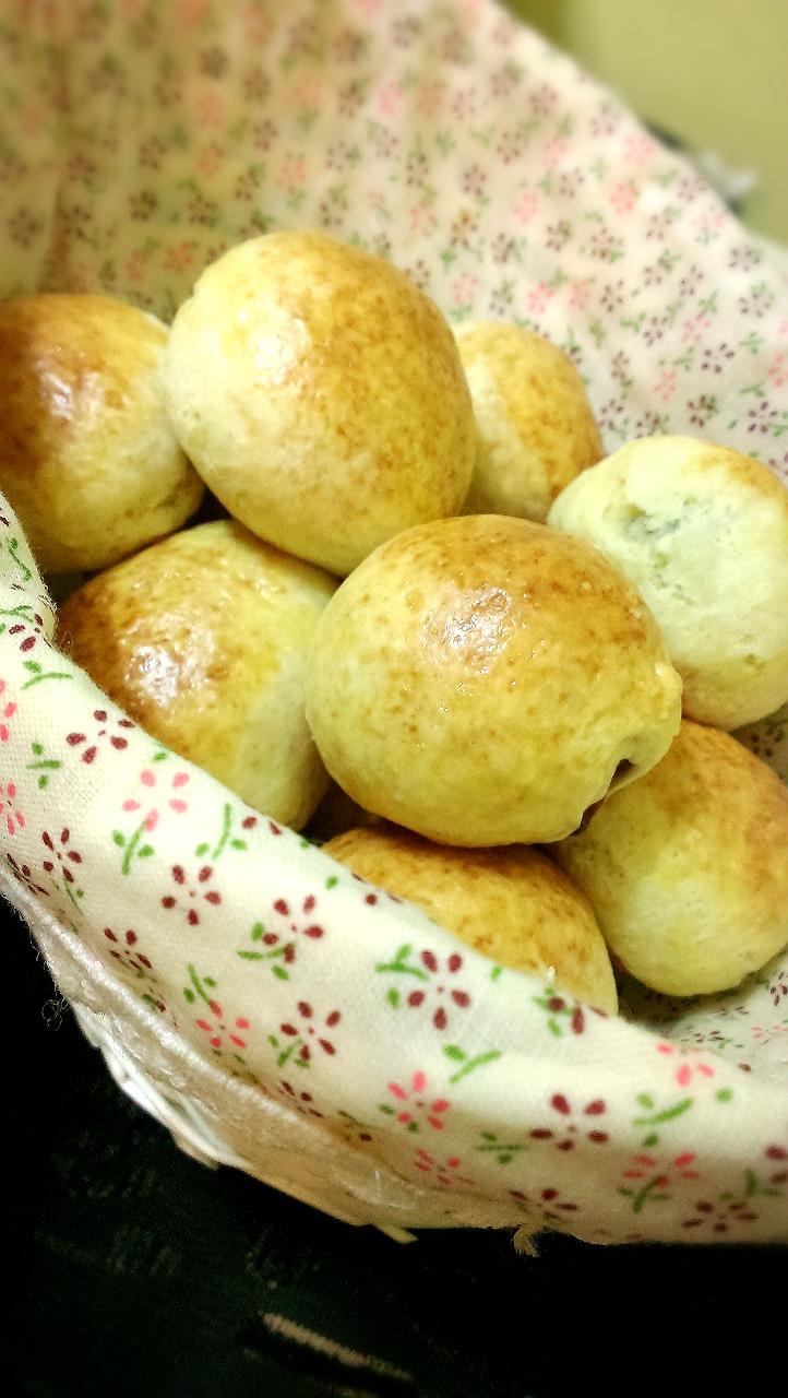 快速葡萄小麵包