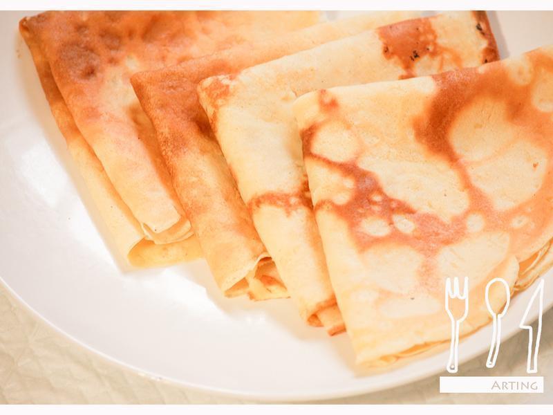 輕鬆做法式可麗餅皮(少量食譜)
