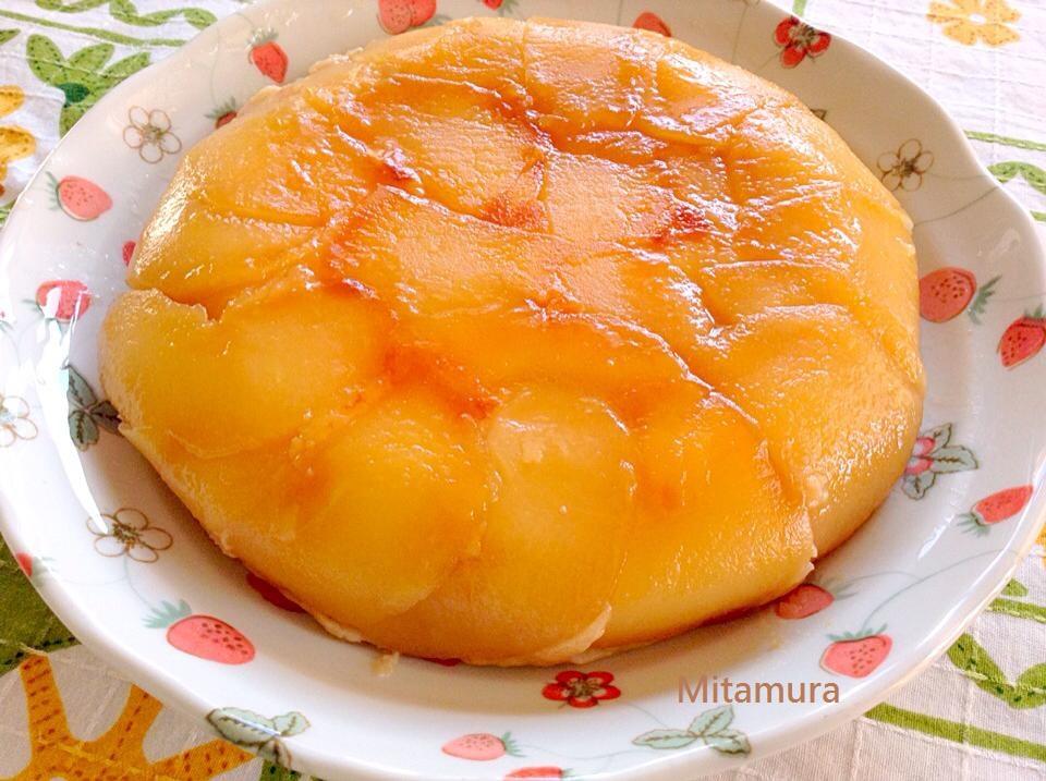 楓糖蘋果重乳酪蛋糕(電子鍋製作)