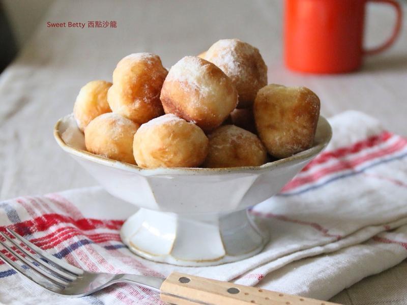 炸甜甜圈(免揉麵糰)