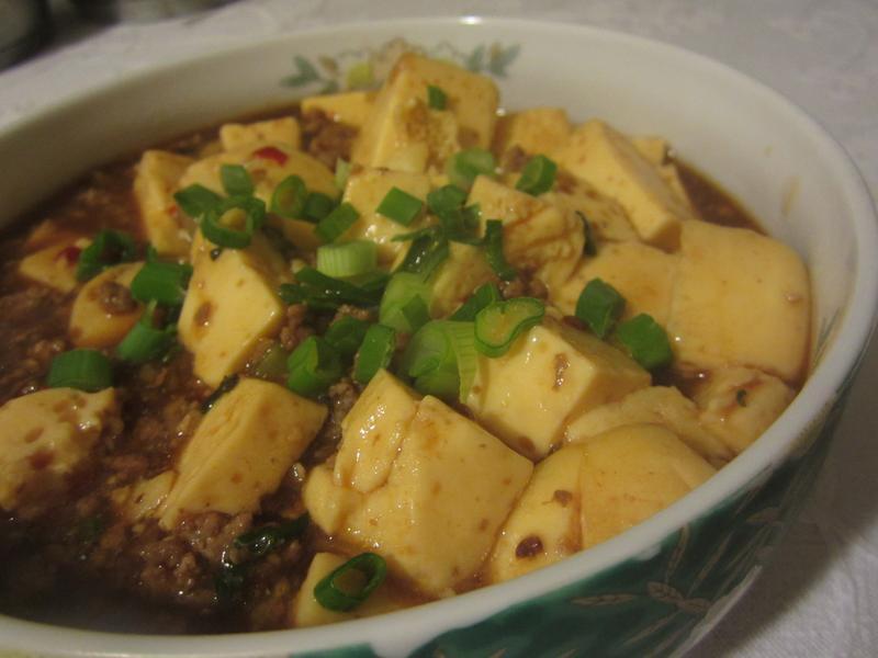 麻婆蛋豆腐