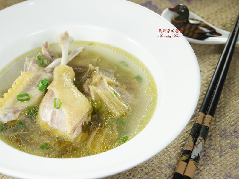 鹹菜鴨肉湯