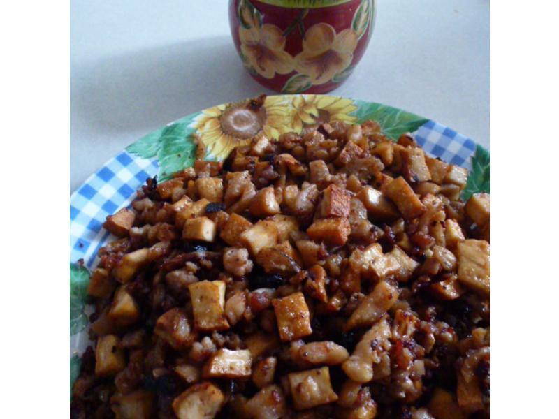蘿蔔乾炒豆干