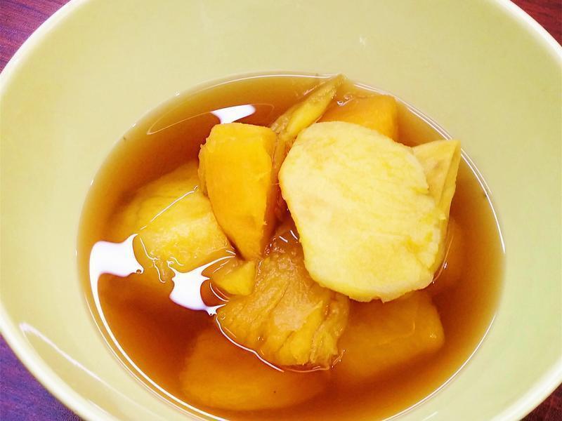月經期間必備的女人聖品黑糖蕃薯糖水!
