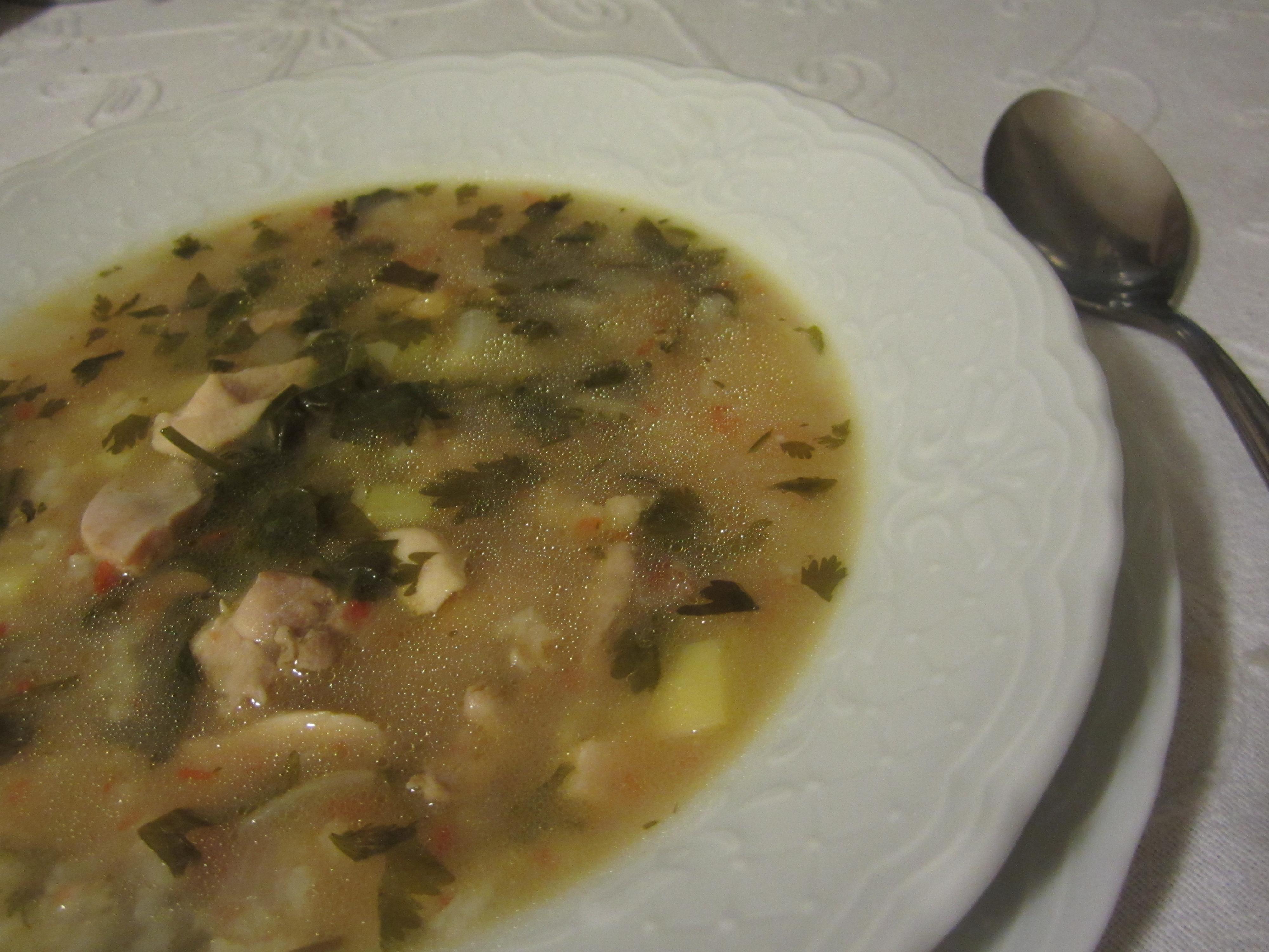 土式雞片濃湯