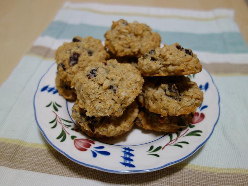 蔓越莓燕麥巧克力碎片餅乾
