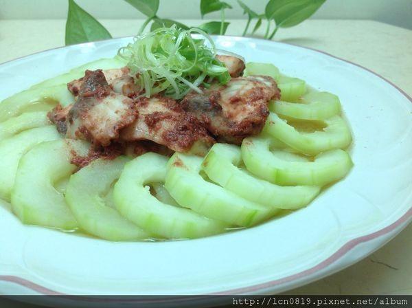 紅糟醬鯛魚黃瓜盤