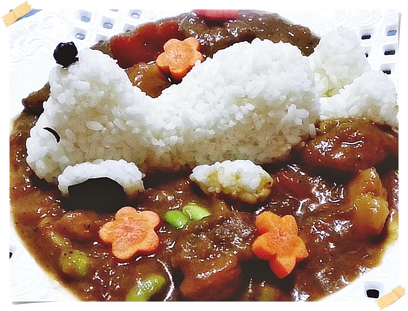 玩玩米飯兒之史奴比咖哩