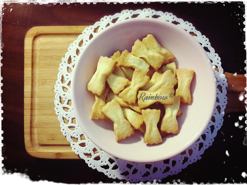 蝴蝶結餅乾