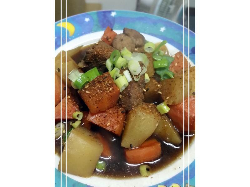 馬鈴薯燉肉~豬肉塊版
