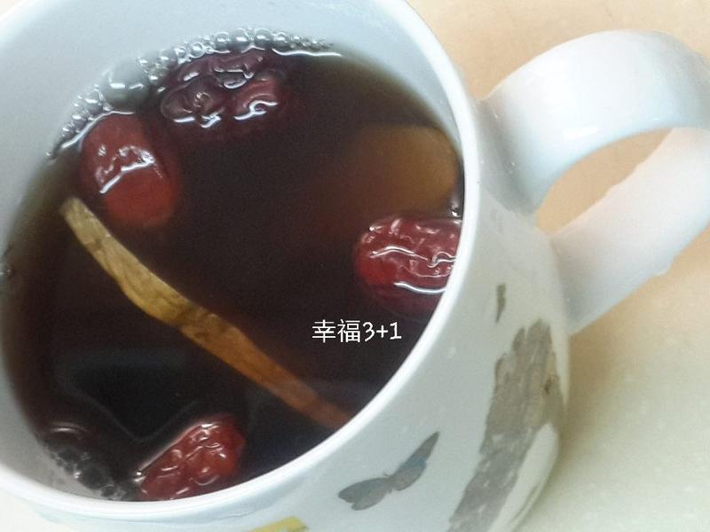 生薑黃耆紅棗茶♥生理期茶飲