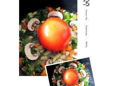 超夯電鍋番茄飯