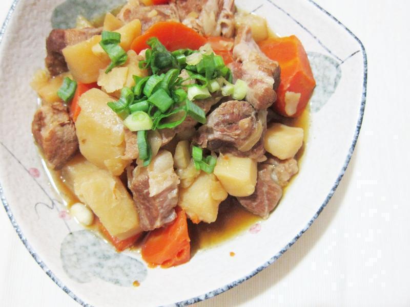 溫暖味蕾的馬鈴薯燉肉