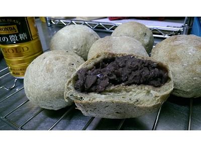 歐式抹茶紅豆麵包
