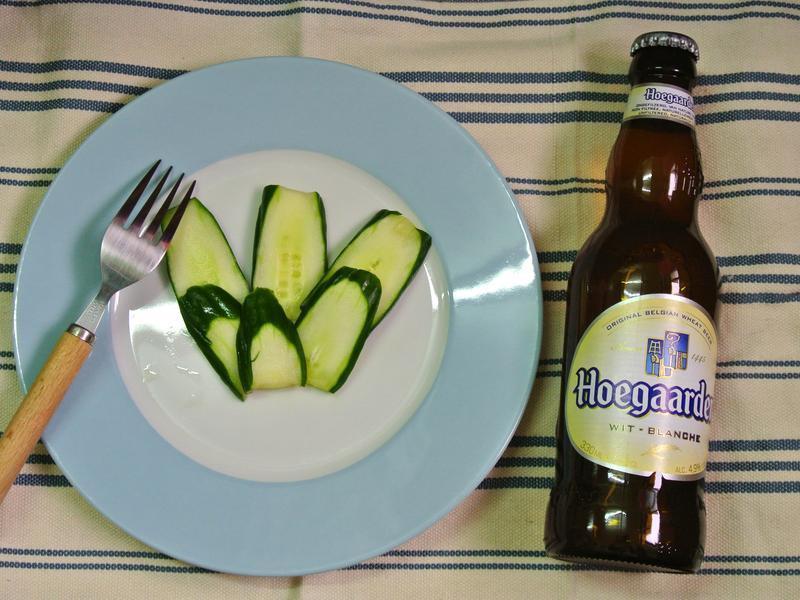 啤酒醃黃瓜@小禮物!