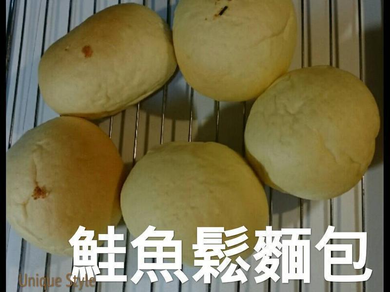 奶酥麵包&鯥魚鬆麵包 好好吃喔^‧^