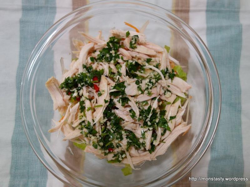 [Costco烤雞剩菜變身]泰式雞肉沙拉