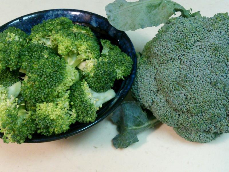 清洗花椰菜~
