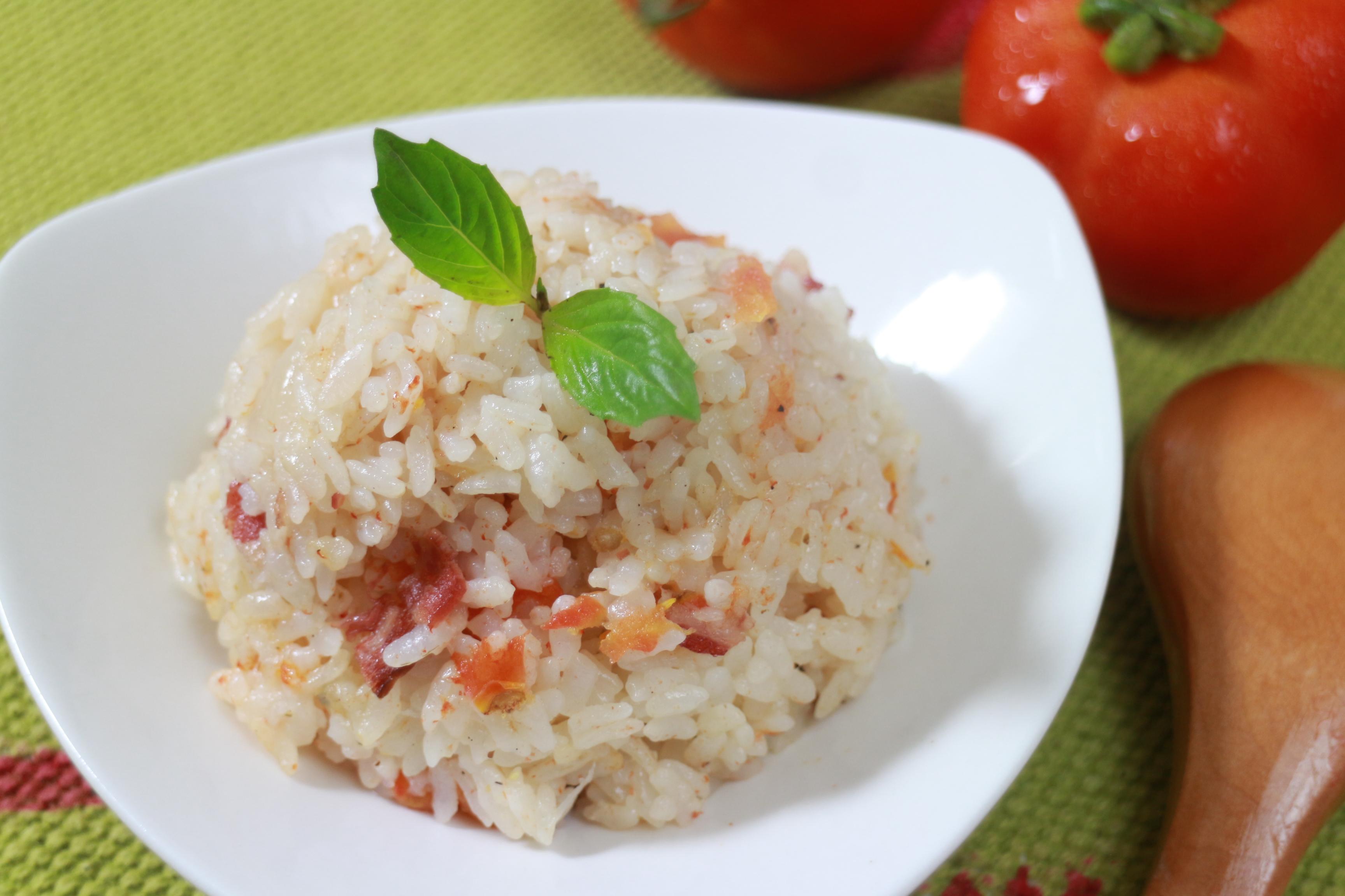 培根番茄飯『飛利浦萬用鍋』