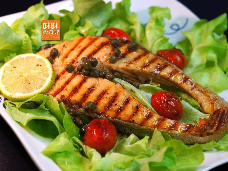 Mimi♥炭烤鮭魚【鐵鍋料理】