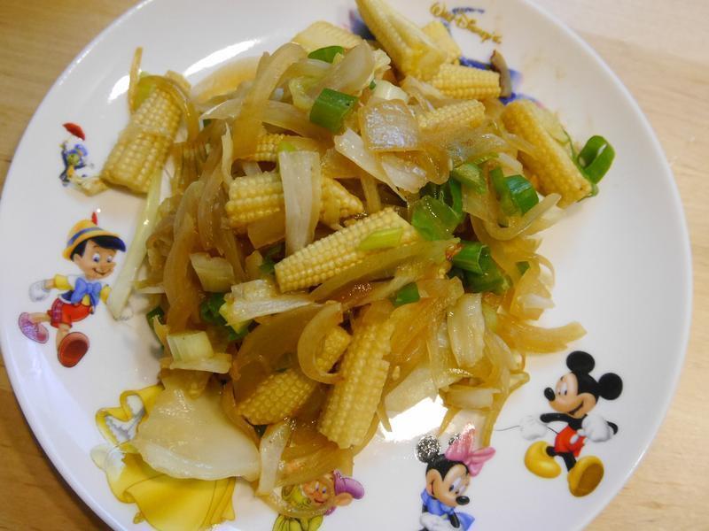 洋蔥玉米筍