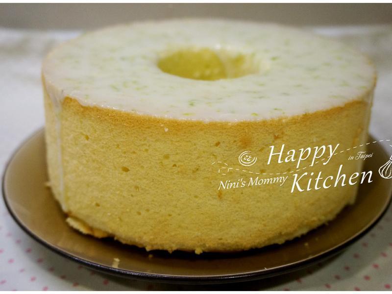 檸檬戚風蛋糕-17公分空心模