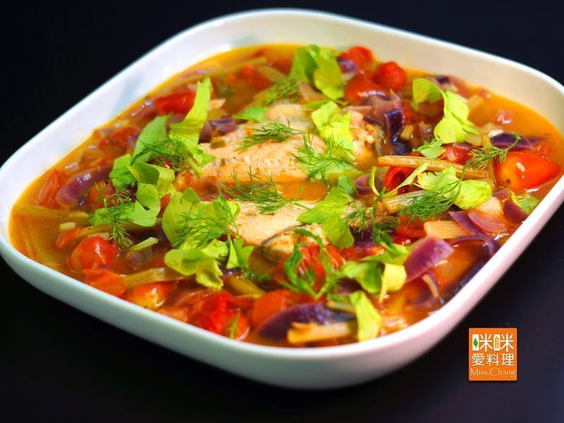 Mimi♥西西里鮭魚湯