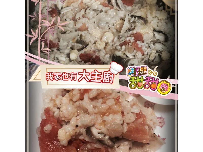 料理甜甜圈【我家大主廚】番茄奶油雞肉燉飯